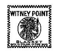 WITNEY POINT BLANKET MADE IN ENGLAND OF PURE WOOL