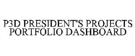 P3D PRESIDENT'S PROJECTS PORTFOLIO DASHBOARD