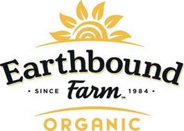 EARTHBOUND FARM ORGANIC SINCE 1984