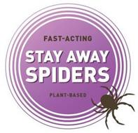 FAST-ACTING STAY AWAY SPIDERS PLANT-BASED