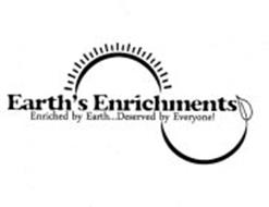 EARTH'S ENRICHMENTS ENRICHED BY EARTH...DESERVED BY EVERYONE!