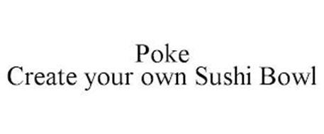 POKE CREATE YOUR OWN SUSHI BOWL