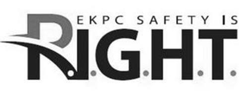 EKPC SAFETY IS R.I.G.H.T.