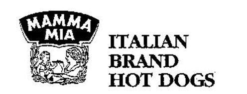 MAMMA MIA ITALIAN BRAND HOT DOGS