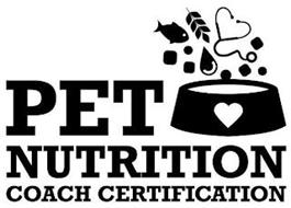 PET NUTRITION COACH CERTIFICATION