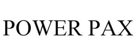 POWER PAX Trademark of Easy-Motion Horse Products Inc