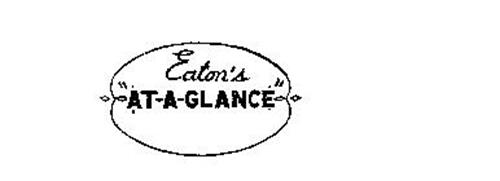 """EATON'S """"AT-A-GLANCE"""""""