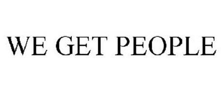 WE GET PEOPLE