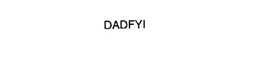 DADFYI
