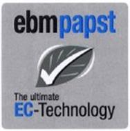 EBMPAPST THE ULTIMATE EC-TECHNOLOGY