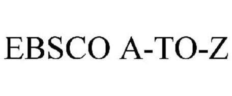 EBSCO A-TO-Z
