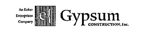 AN ECKER ENTERPRISES COMPANY GYPSUM CONSTRUCTION, INC.