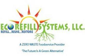 ECO REFILL SYSTEMS, LLC. REFILL...REUSE...RESTORE A ZERO WASTE FOODSERVICE PROVIDER 'THE FUTURE IS A GREEN ALTERNATIVE'