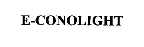 e conolight trademark of e conolight llc serial number
