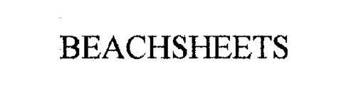 BEACHSHEETS