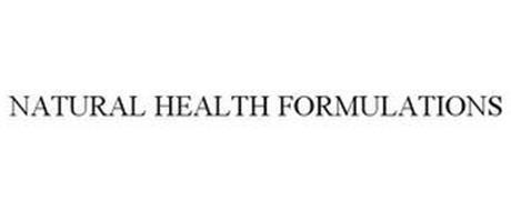NATURAL HEALTH FORMULATIONS