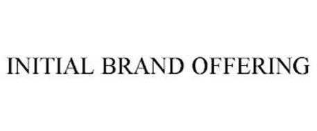 INITIAL BRAND OFFERING