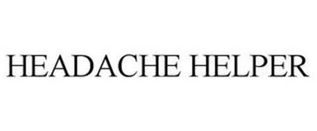 HEADACHE HELPER