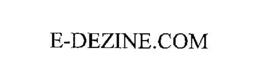E-DEZINE.COM