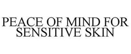 PEACE OF MIND FOR SENSITIVE SKIN