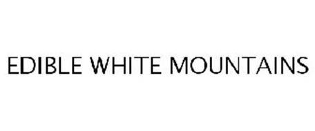 EDIBLE WHITE MOUNTAINS