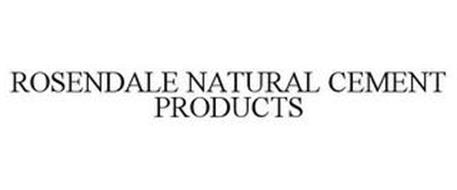 ROSENDALE NATURAL CEMENT PRODUCTS