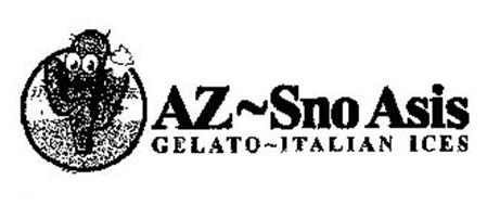 AZ~SNOASIS GELATO~ITALIAN ICES
