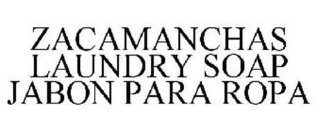 ZACAMANCHAS LAUNDRY SOAP JABON PARA ROPA