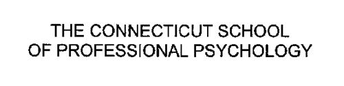 THE CONNECTICUT SCHOOL OF PROFESSIONAL PSYCHOLOGY