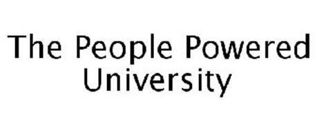 THE PEOPLE POWERED UNIVERSITY