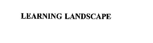 LEARNING LANDSCAPE