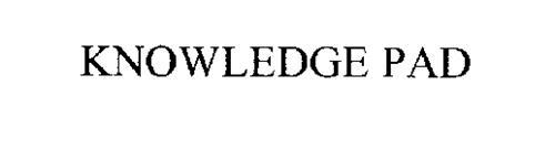 KNOWLEDGE PAD