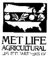 MET LIFE AGRICULTURAL LIMITED PARTNERSHIP