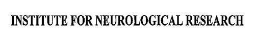INSTITUTE FOR NEUROLOGICAL RESEARCH