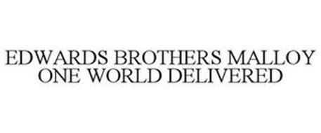 EDWARDS BROTHERS MALLOY ONE WORLD DELIVERED