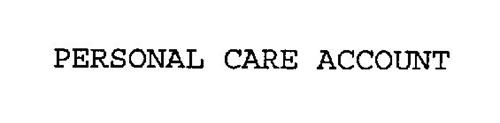 PERSONAL CARE ACCOUNT