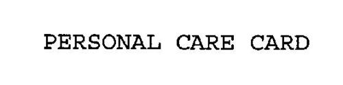 PERSONAL CARE CARD