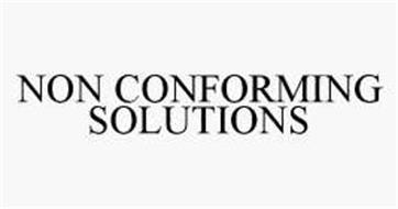 NON CONFORMING SOLUTIONS