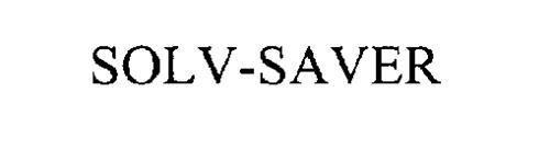 SOLV-SAVER
