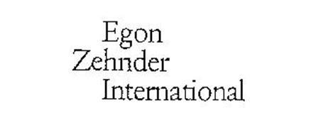EGON ZEHNDER INTERNATIONAL