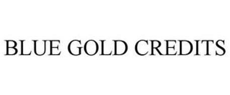 BLUE GOLD CREDITS