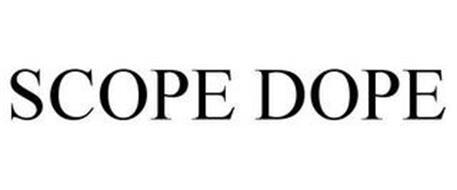 SCOPE DOPE