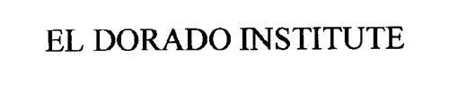 El Dorado Institute Trademark Of El Dorado Furniture Corporation Serial Number 76505676