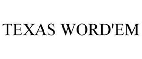 TEXAS WORD'EM