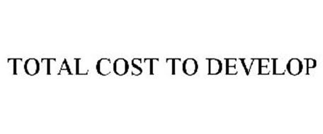 TOTAL COST TO DEVELOP