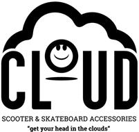 """CLOUD SCOOTER & SKATEBOARD ACCESSORIES """"GET YOUR HEAD IN THE CLOUDS"""""""