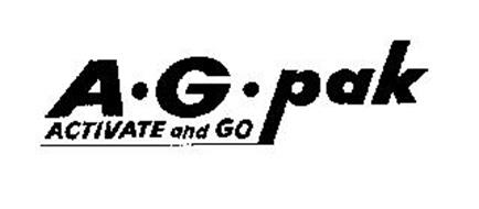 A.G. PAK ACTIVATE AND GO