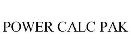 POWER CALC PAK