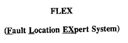 FLEX (FAULT LOCATION EXPERT SYSTEM)