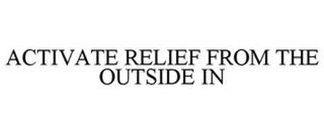 ACTIVATE RELIEF FROM THE OUTSIDE IN